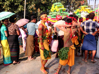 Hindu Festival in Dala, a small village across the river from Yangon